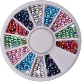 KARUZELA Cyrkonie jet Kolorowe Kryształki - wzór 9