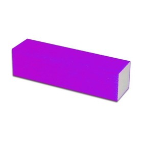 Blok polerski do paznokci NEON PURPLE 100/100