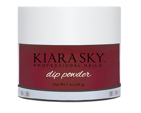 Kiara Sky Dip powder D502 ROSES ARE RED Manicure Tytanowy