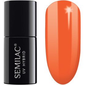 Semilac 045 Electric Orange 7ml - Lakier hybrydowy do paznokci