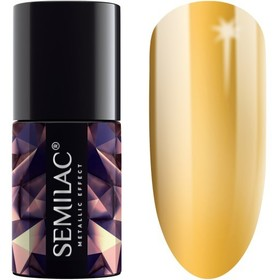 Semilac Metallic effect Gold 252 efekt do lakieru hybrydowego