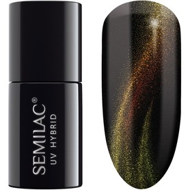 Semilac Cat Eye 3D 638 Yellow 7ml Lakier hybrydowy do paznokci