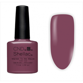 CND Shellac Married to the Mauve 7,3ml Lakier hybrydowy do paznokci
