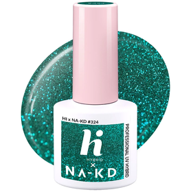 HI HYBRID #324 Lakier Hybrydowy GREEN LAKE SHINE 5ml