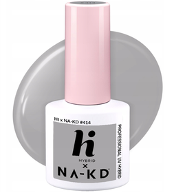 HI HYBRID #414 Lakier Hybrydowy LIGHT GREY 5ml