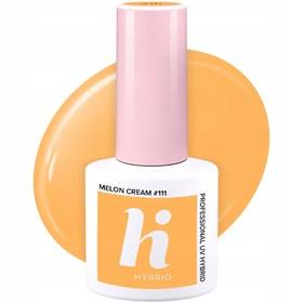 HI HYBRID #111 Lakier Hybrydowy MELON CREAM 5ml