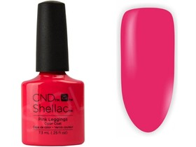 CND SHELLAC Lakier Hybrydowy UV PINK LEGGINGS 7,3ml