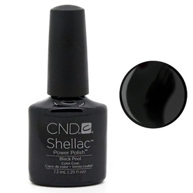 CND SHELLAC Lakier Hybrydowy UV BLACK POOL 7,3ml