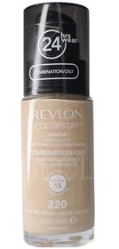 Podkład REVLON ColorStay 220 Natural Beige COMBINATION / OILY SKIN 30ml