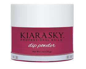 Kiara Sky Dip powder D485 PLUM IT UP Manicure Tytanowy
