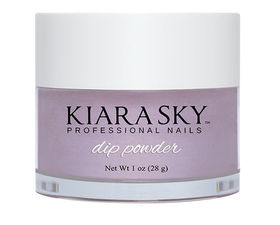 Kiara Sky Dip powder D529 IRIS AND SHINE Manicure Tytanowy