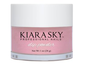 Kiara Sky Dip powder D405 YOU MAKE BLUSH Manicure Tytanowy