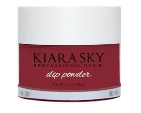 Kiara Sky Dip powder D546 I DREAM OF PAREDISE Manicure Tytanowy