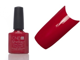 CND SHELLAC Lakier Hybrydowy UV ROSE BROCADE 7,3ml