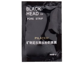 Pilaten Black Mask 1x SASZETKA 6g Czarna maska PEEL OFF