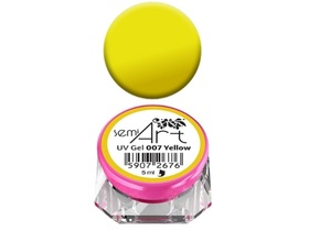 SEMILAC SEMI ART 5ml żel UV do zdobień 007 YELLOW