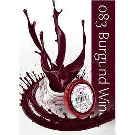 Semilac UV Gel Color 083 Burgund Wine 5ml Żel UV do paznokci