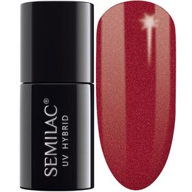 SEMILAC 070 Pearl Red UV LED Lakier Hybrydowy 7ml