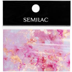 SEMILAC Folia transferowa 12 Rose Gold Marble foil