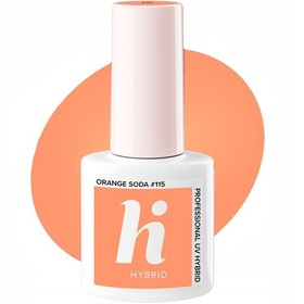HI HYBRID #115 Lakier Hybrydowy Orange Soda 5ml