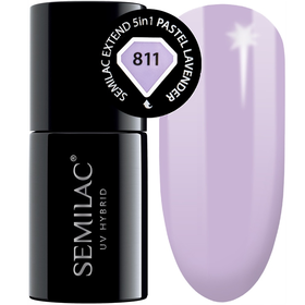 Semilac Baza Extend 811 Top Kolor 5w1 Pastel Lavender 7ml