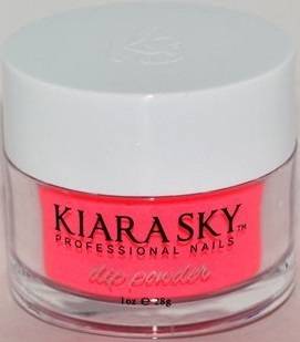 Kiara Sky Dip Powder D563 CHERRY ON TOP Manicure Tytanowy