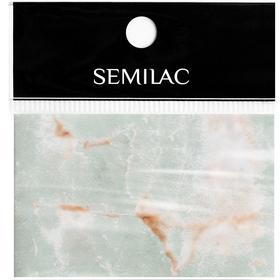 SEMILAC Folia transferowa 10 Grey Marble foil