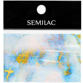 SEMILAC Folia transferowa 07 Blue Marble foil