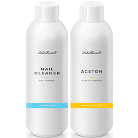 CLEANER + ACETON 2x 500ml Isabellenails