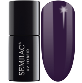 SEMILAC 100 Black Purple UV LED Lakier Hybrydowy 7ml