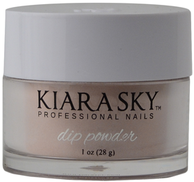 Kiara Sky Dip Powder D403 BARE WITH ME Manicure Tytanowy