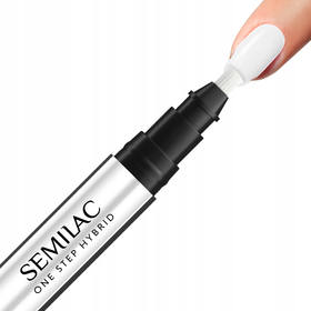 S110 Semilac One Step Hybrid Marker THE WHITE 3ml