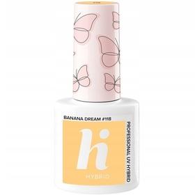 HI HYBRID #118 Lakier Hybrydowy Banana Dream 5ml