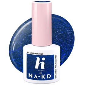 HI HYBRID #315 Lakier Hybrydowy BLUE ELEMENTS 5ml