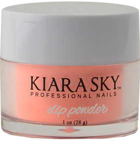 Kiara Sky Dip Powder D418 SON OF A PEACH Manicure Tytanowy
