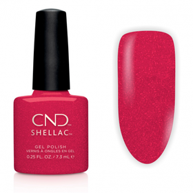 CND SHELLAC Lakier Hybrydowy UV KISS OF FIRE 7,3ml