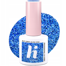 HI HYBRID #432 Lakier Hybrydowy BUT FIRST GLOW 5ml