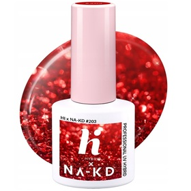 HI HYBRID #203 Lakier Hybrydowy RED ELEMENTS 5ml