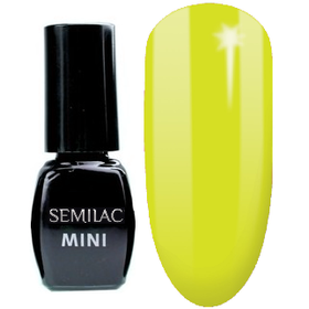 MINI SEMILAC 040 Canary Green Lakier Hybrydowy 3ml